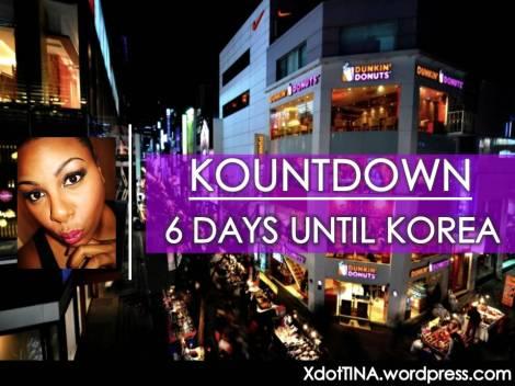 Kountdown 6 Days
