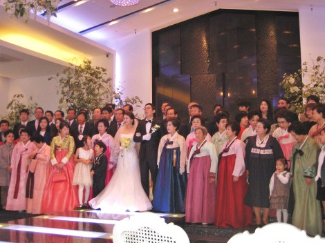 The wedding that we were invited to . . .