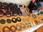 my sunglasses and large earrings . . . yes, I am aware that I have a slight case of OCD :)